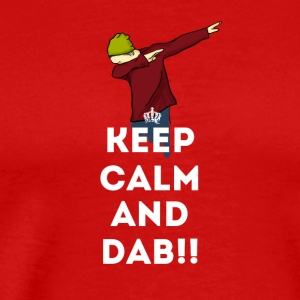 dab spatter panda dabbing touchdown fun cool LOL - Men's Premium T-Shirt