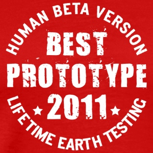 2011 - The birth year of legendary prototypes - Men's Premium T-Shirt