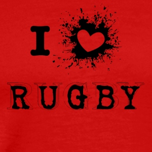 iLove Rugby - T-shirt Premium Homme
