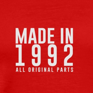 MADE IN 1992 - GEBOORTEJAAR - Mannen Premium T-shirt