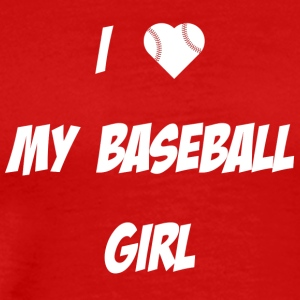 Baseball Girl - Men's Premium T-Shirt