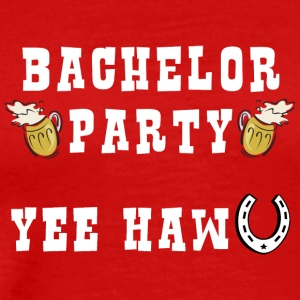 Bachelor Party Getting Married - Premium-T-shirt herr