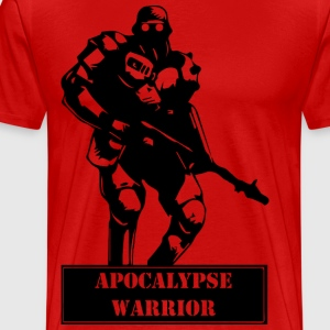 Apocalypse Warrior 2 - Premium T-skjorte for menn