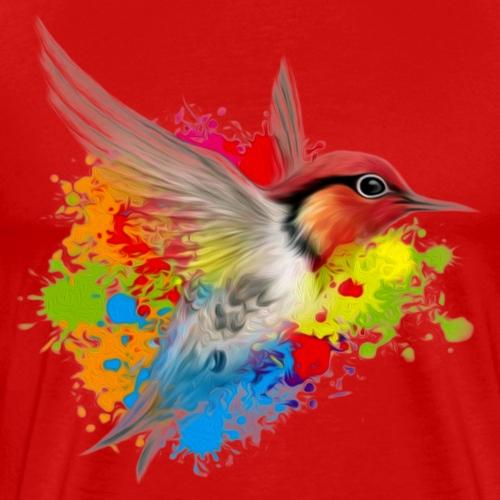colibri friend logo - Men's Premium T-Shirt