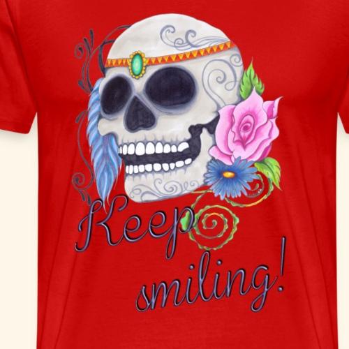 Schenk mir Dein Lächeln! - Männer Premium T-Shirt