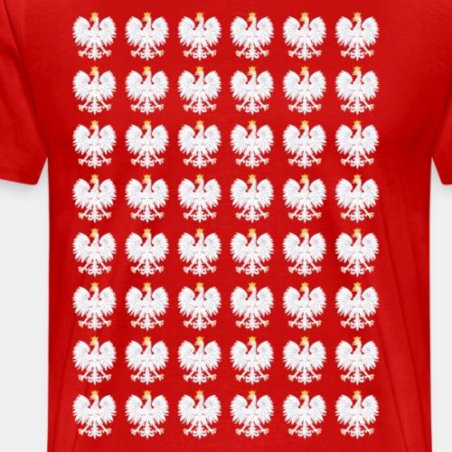 Koszulka Polska Eagle podwojona - Koszulka męska Premium