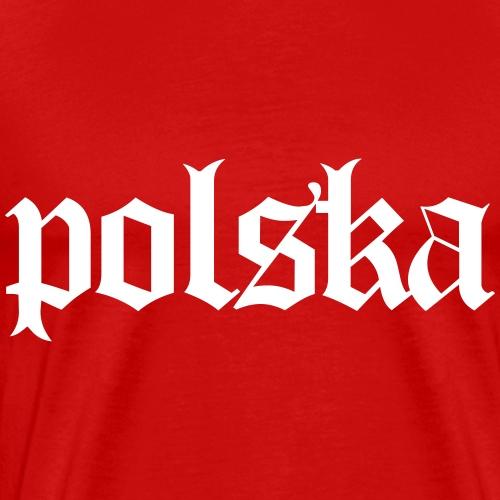 Polska-Polen - Männer Premium T-Shirt