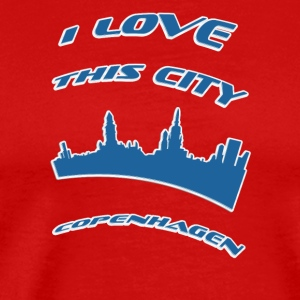 COPENHAGEN I love this city - Men's Premium T-Shirt