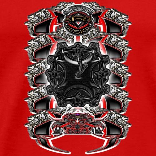 1 9 - Männer Premium T-Shirt