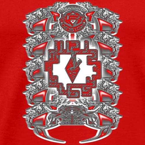 1 23 - Männer Premium T-Shirt