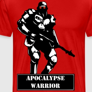 Apocalyps Warrior - Mannen Premium T-shirt