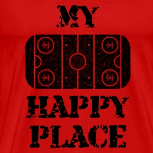 My Happy Place - Herre premium T-shirt