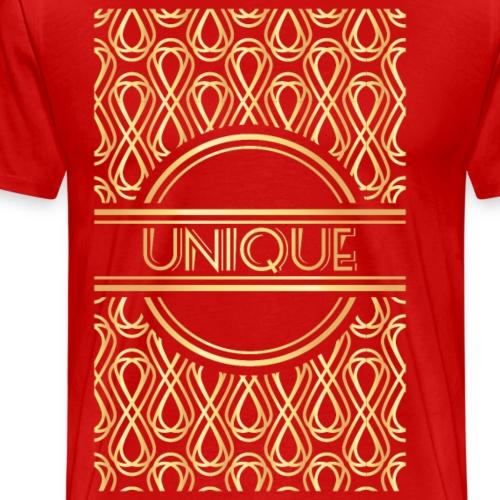 Second Golden Geometric - Men's Premium T-Shirt
