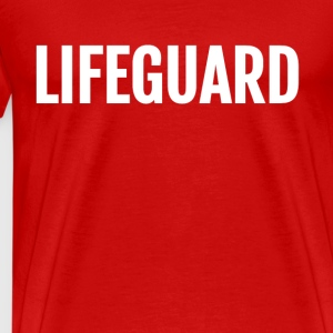 lifeguard template - Männer Premium T-Shirt