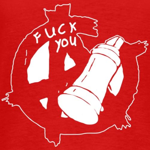 Anarchy white - Männer Premium T-Shirt