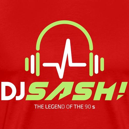 DJ SASH! - Headfone Beep - Men's Premium T-Shirt