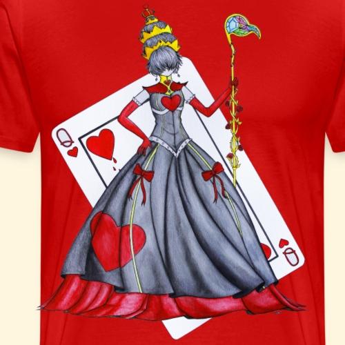 Reine de Coeur - T-shirt Premium Homme