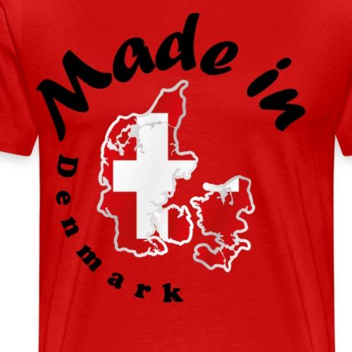 Made in Denmark, idée cadeau - T-shirt Premium Homme