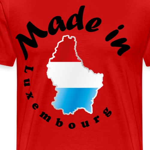 Made in Luxembourg, idée cadeau - T-shirt Premium Homme