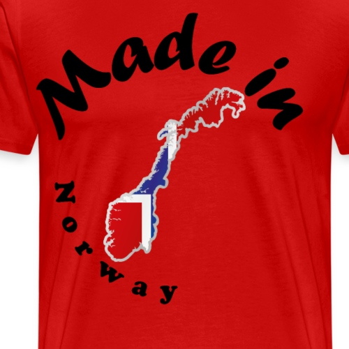 Made in Norway, idée cadeau - T-shirt Premium Homme