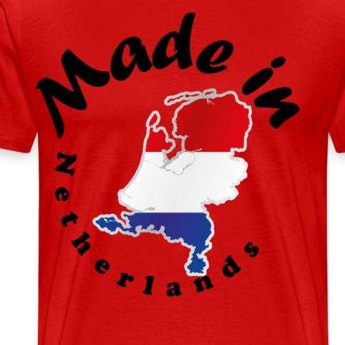 Made in Netherlands, idée cadeau - T-shirt Premium Homme
