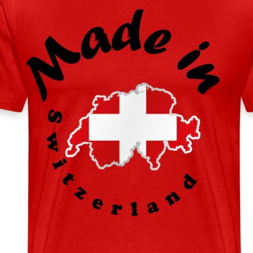 Made in Switzerland, idée cadeau - T-shirt Premium Homme