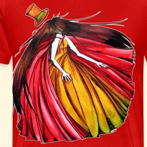 Qui est le Chapelier Fou ? Le Chaperon Rouge ! - T-shirt Premium Homme