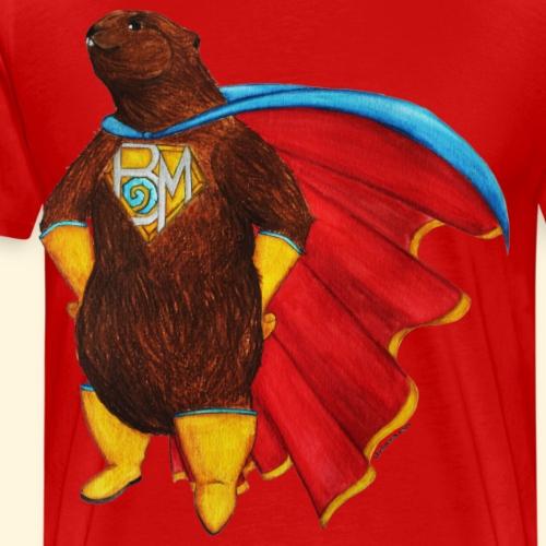 Super-Marmotte - T-shirt Premium Homme