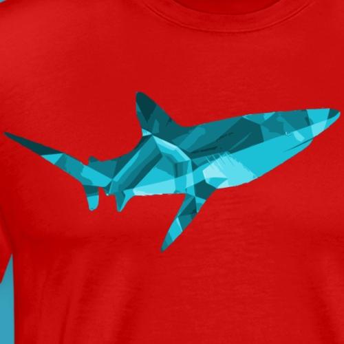 Blue Diamond Shark - Men's Premium T-Shirt
