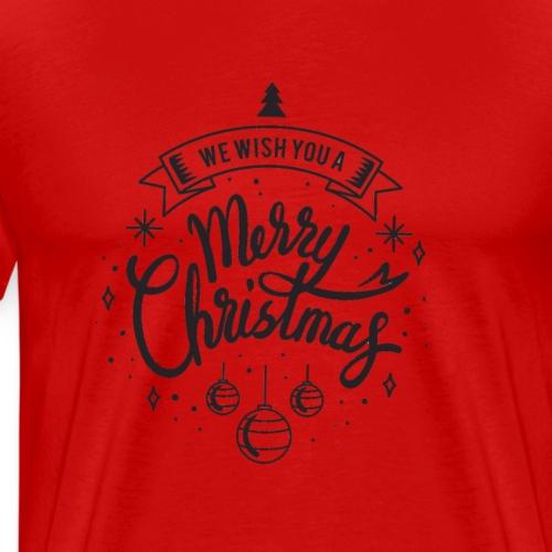 Mary Christmas Joyeux Noël, meilleurs voeux - T-shirt Premium Homme