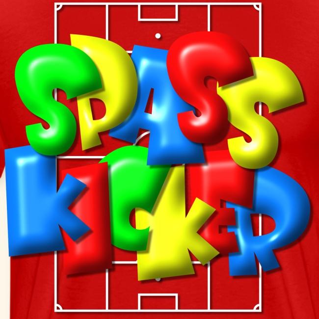 """""""Spass Kicker"""" im Fußballfeld - Balloon-Style"""