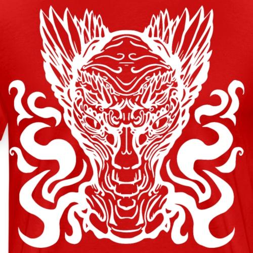 Feuer Drache - Männer Premium T-Shirt