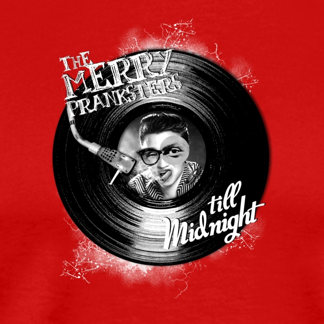 The Merry Pranksters Till Midnight - Black T-Shirt