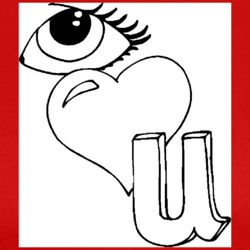 I Love You - Mannen Premium T-shirt