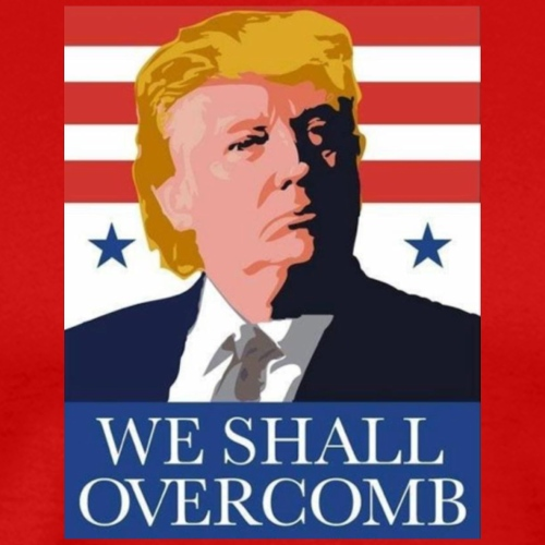 We Shall Overcomb - Men's Premium T-Shirt