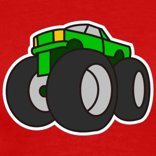 Digital - Extreme Monster Truck Sport Hot Cars - Männer Premium T-Shirt