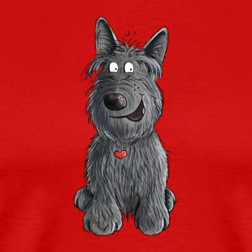Sweet Scottish Terrier I Scottie Hunde Geschenk - Männer Premium T-Shirt