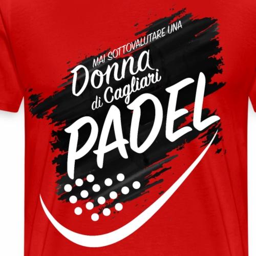 Padel Cagliari - Maglietta Premium da uomo