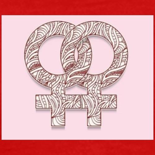 symbol-of-lesbia - T-shirt Premium Homme
