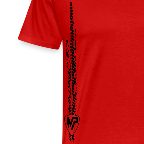 Motopola Tire Path - Männer Premium T-Shirt
