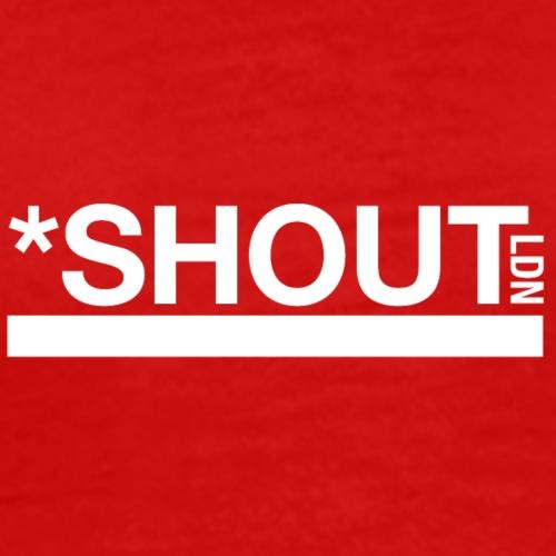 Shout LDN White - Men's Premium T-Shirt