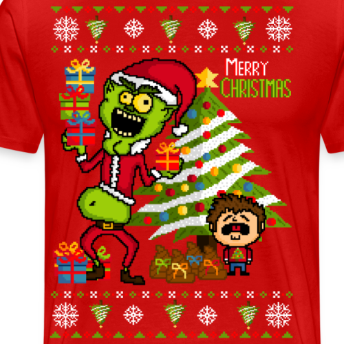 Grinch - Ugly christmas sweater