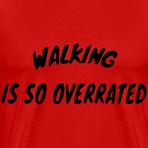 Walkingoverrated 007 - Mannen Premium T-shirt