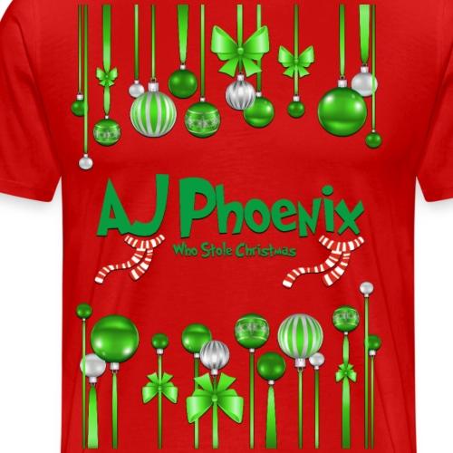 The AJ Phoenix Who Stole Christmas - Men's Premium T-Shirt