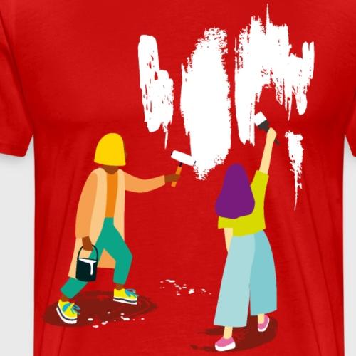 Ravalement de T-shirt - T-shirt Premium Homme