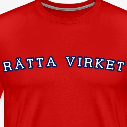 RV College - Premium-T-shirt herr