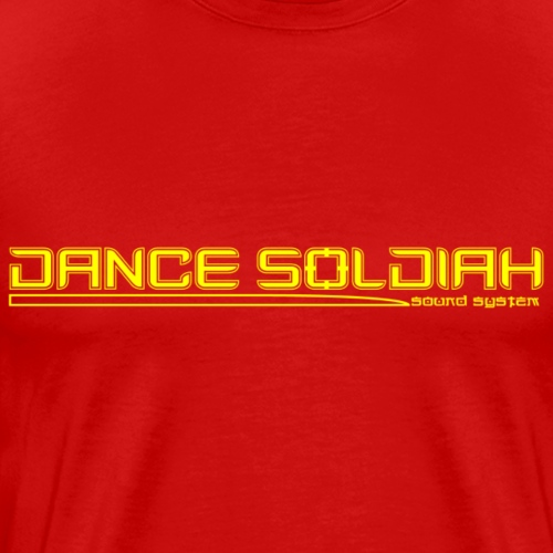 DANCE SOLDIAH YELLOW - T-shirt Premium Homme