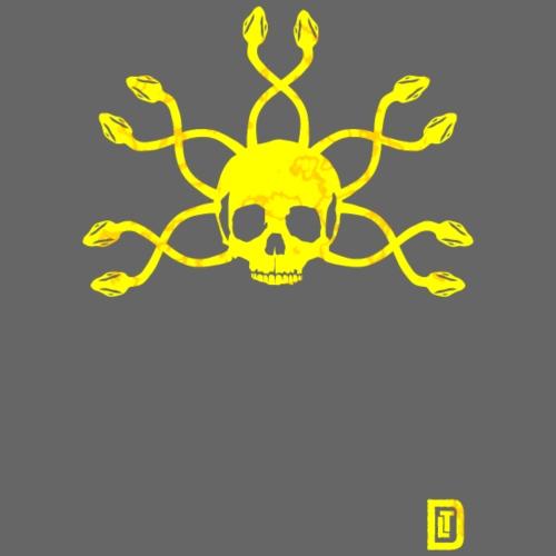 Yellow Medusa - Männer Premium T-Shirt