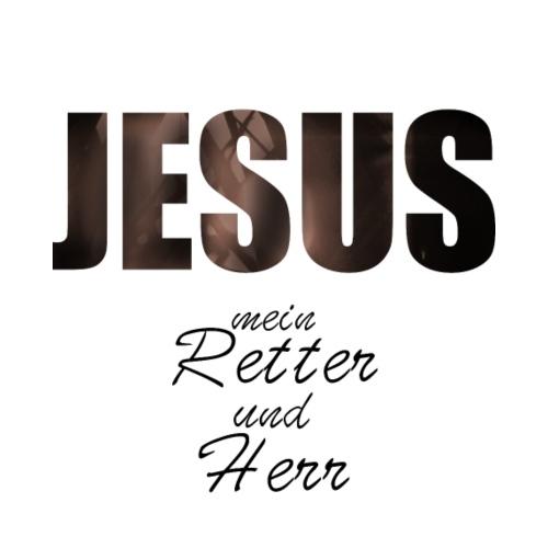 Jesus, Retter und Herr - Königskinder Fotodesign - Männer Premium T-Shirt