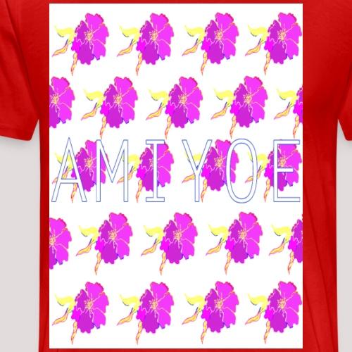 flores man´style - Camiseta premium hombre